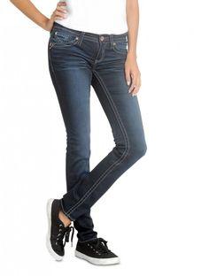 Hydraulic Juniors Bailey Skinny Traveling Jean  Fall 2014 Styles #denim #jeans #TheTravelingJean