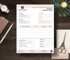 Invoice template  Photography invoice  Business invoice  Receipt     Invoice template  Photography invoice  Business invoice  Receipt template  for Photographers  Photography forms  Photoshop template  PSD file    Pinterest