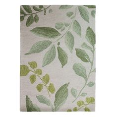 Crafted from wool, this watercolour effect floral rug features a green leaf pattern on a natural background and is available in a choice of sizes. Don't forget to buy our anti-slip mat, available in a choice of sizes. Living Room Trends, Rugs In Living Room, Dark Brown Sofas, Woodland Room, Natural Background, Watercolor Effects, Watercolour, Floral Rug, Office Decor