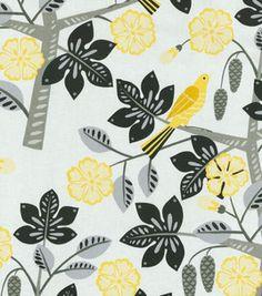 Home Decor Upholstery Fabric-Waverly Small Talk / Blackbird: home decor fabric: fabric: Shop | Joann.com