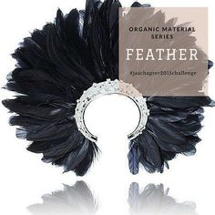#organicmaterialseries  Feathers The delicateness of feathers lends softness and movement to jewellery pieces not achieved with any other material.  #feathers #jeweller #jewellery #ring #bracelet #bangle #necklace #chain #pendant #earrings #brooch #jaachapter2015challenge #page331of365  Image: Wilfredo Rosado