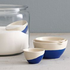 Dipped Measuring Cups | west elm