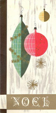 Eames Era Noel & Hanging Ornaments