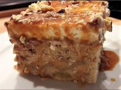 Cookbook Recipes, Cooking Recipes, Yummy Cakes, Apple Pie, Sweet Recipes, Caramel, Food And Drink, Ethnic Recipes, Desserts