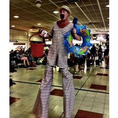 Entertainers perform at Gatwick for Fun Fridays. You can see more photos of #lgwlive on our Instagram account here: http://instagram.com/gatwickairport