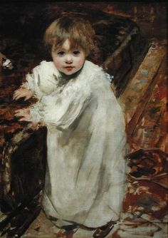 Colette's First Steps Canvas Print by Henri Gervex Oil On Canvas, Canvas Art, Canvas Prints, Framed Prints, Munier, Colette, Academic Art, Henri, French Artists