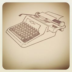 Ooh, love it. Typewriter Stationary Set // Handmade // Antique by PapillonKate, $5.00