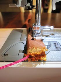 Pickup Some Creativity: Sewing 101 with Shannon, Turning a skinny fabric tube