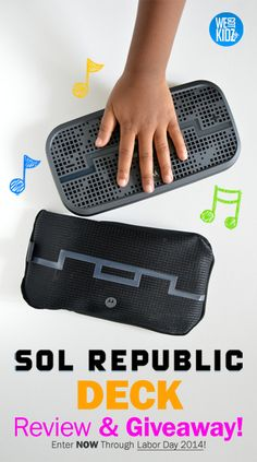 SOL REPUBLIC Deck: Back-to-school Gift Pick and Giveaway! #giveaway #SOLREPUBLIC