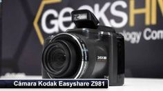 kodak easyshare z981 - YouTube