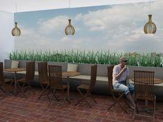 Diseño-Terraza de Hotel-