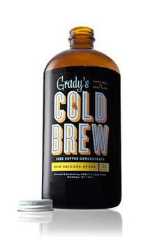 We're partial to Grady's Cold Brew at R29 — come summertime, it's basically our power source.  #refinery29 http://www.refinery29.com/best-brooklyn-products#slide-12