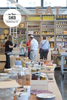 ON TOUR :: SHED, HEALDSBURG | Fluxi On Tour