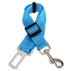 Aus der Kategorie Sicherheitsgeschirre  gibt es, zum Preis von EUR 2,34  <b>* TOOGOO ist ein eingetragenes Markenzeichen. Nur TOOGOO autorisierte Verkaeufer duerfen unter TOOGOO-Listing verkaufen.</b> <br />TOOGOO(R) 3X Hund Katze Pet Car Safety Seat Belt Harness Restraint Blei einstellbare Fahr Collar - blau rot <br /> 100% nagelneu und hohe Qualitaet <br /> Halten Ihr Haustier sicher und sicher im Fahrzeug waehrend der Fahrt. <br /> Verstellbare Riemen, damit Haustier komfortabel sitzen…