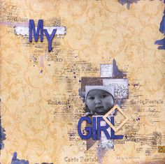 Heike`s AugenBlick: My girl.......Layout