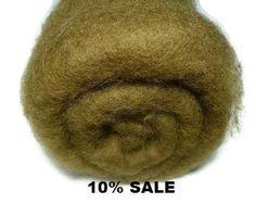 Needle Felting Wool, 1 oz , Colour (Nut)