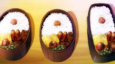 Food Art, A Food, Good Food, Food And Drink, Yummy Food, Anime Bento, Food Sketch, Getting Hungry, Bento Box