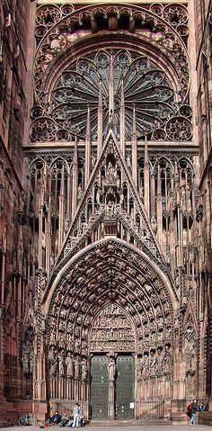 Strasbourg ( Cathédrale de Strasbourg ), France