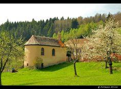 Chapelle Saint-Alexis, Haut-Rhin, Alsace, France