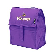 INCREDIBLE MINNESOTA VIKINGS, FREEZABLE LUNCH BAG FROM PACKIT/KOLDER…