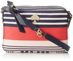 kate spade new york Highliner Stripe Clover Cross Body Bag