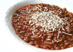 lentil soup and red lentil soup