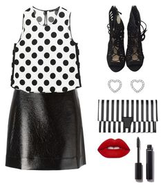 """Untitled #65"" by deborasilva02 ❤ liked on Polyvore featuring MICHAEL Michael Kors, Zara, Tiffany & Co., Lime Crime and Chanel"