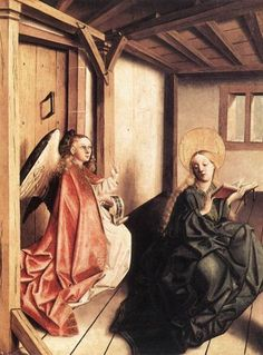 The Annunciation, Konrad Witz 1440, Germanische Nationalmuseum