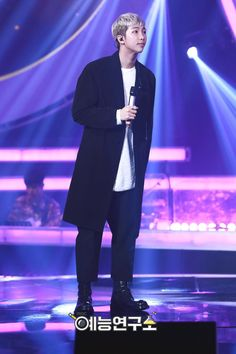 MBC has posted photos of Rapmonster @ Duet Song Festival! ❤ #BTS #방탄소년단