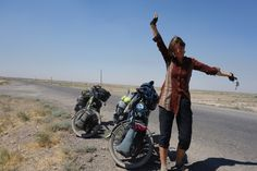 Cycling from sunrise to sunset, 5 days Turkmenistan