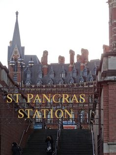 St. Pancras Sign by http://randomlylondon.com