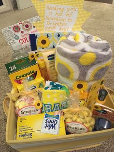 More photos of a sunshine gift