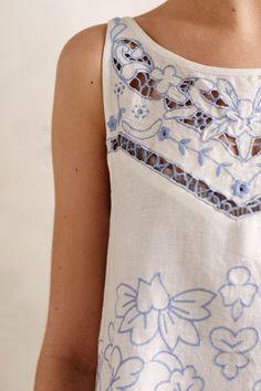 Bellflower Linen Tunic - anthropologie.com #anthrofave