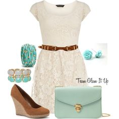 """""""Lace for summer"""" by teamglamitup on Polyvore"""