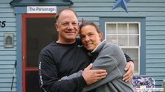 2013-11-20 The Parsonage, photographed by Deanna Wolfire and featuring owner John Lojek with Jane Williams.