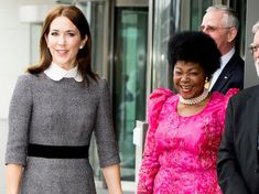 Crown Princess Mary visits the ICC in the Hague