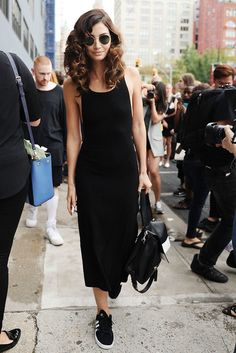 Lily Aldridge adidas Gazelle