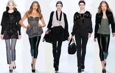 2014/2015 MERCEDES-BENZ FASHION TRENDS | Trend, Herbst-Winter, Fashion Week: schmale Hosen - Modetrends Fashion ...