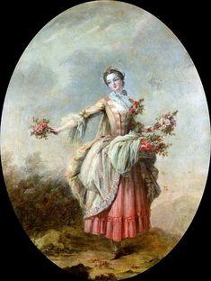 Цветочница. Франсуа Буше