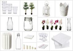 Saving Money with Ikea Wedding Details