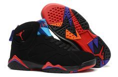 sports shoes c62b1 a66e3 Spain Nike Air Jordan Vii 7 Retro Mens Shoes Black Black Mago Red New from  Reliable Big Discount! Spain Nike Air Jordan Vii 7 Retro Mens Shoes Black  Black ...