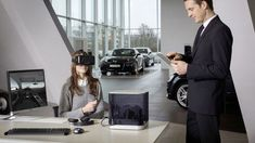 Virtual Reality Car Dealerships - The Audi VR Experience Serves as a Mobile Car Dealership (GALLERY)