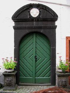 old door, Boppard, Rhine valley, Germany by j.labrado, via Flickr