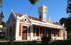 Vassouras, RJ - Brasil - antiga estação ferroviária