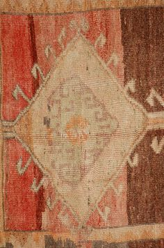 Vintage Turkish Oushak Rug    From a unique collection of antique and modern turkish rugs at https://www.1stdibs.com/furniture/rugs-carpets/turkish-rugs/