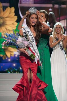 Nia Sanchez wins Miss USA 2014 and will compete in Miss Universe 2014 pageant Miss Nevada, Nevada Usa, Miss Tennessee, Miss Universe 2014, Miss Usa, Miss America, Beauty Pageant, Bridesmaid Dresses, Wedding Dresses