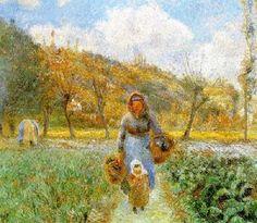 KC+Camille-Pissarro-In-The-Garden-.jpg 400×349 pixels
