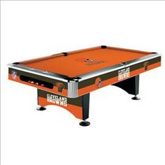 Cleveland Browns NFL Pool Table is the ultimate addition to any Game Room. Cleveland Browns Fans this NFL Team Pool Table is High Quality Broncos Gear, Denver Broncos Football, Browns Football, Football Baby, Cincinnati Bengals, Football Season, Go Browns, Browns Fans, Nfl Cleveland Browns