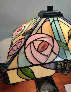 Lampada da Tavolo Tiffany con Fiori 315