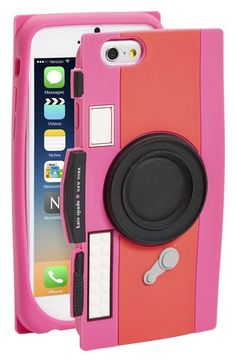 kate spade new york 'camera' iPhone 6 & 6s case available at #Nordstrom I LOVE THIS!!!!!!